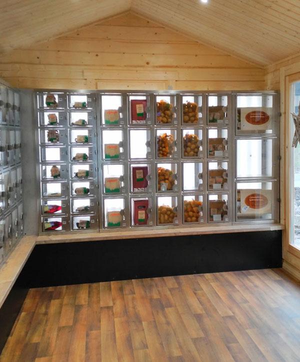 Holzhaus-Automat Home